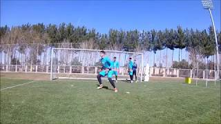 Goalkeepers Training with Coach Rui Tavares in Sepahan fc (Iran)