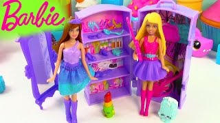 Barbie Doll The Princess and The Popstar Mini Playset Guitar Band Wardrobe Review