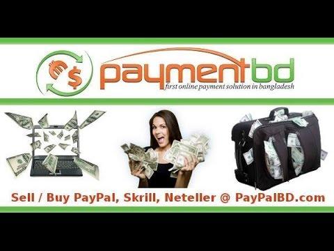PayPal BD / Payment BD / PayPal Bangladesh / PayPalBD.com / Neteller BD / Skrill BD / Perfect Money
