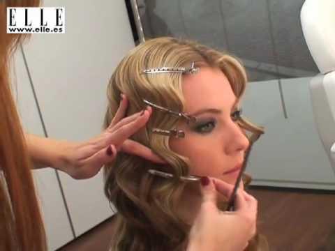 Как сделать волну на короткие волосы видео