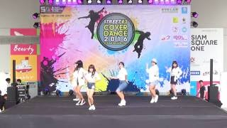 160625 [Wide] A-Rise cover Apink - Remember + Mr.Chu @Siam Square 1 Cover Dance 2016 (Audition)