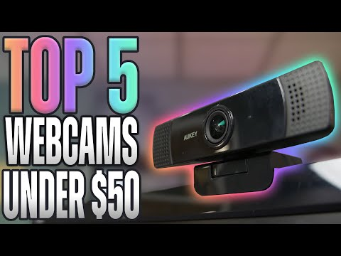 Top 5 Budget Webcams for Livestreaming In Depth Test 2021