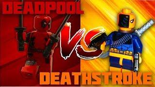 Lego Deadpool vs Deathstroke