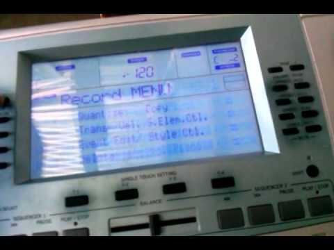 Crear ritmos korg pa50sd