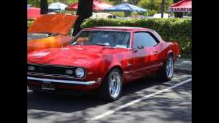1967 1969 Camaro Parts   2014 San Mateo Car Show   Steves Camaro Parts San Bruno