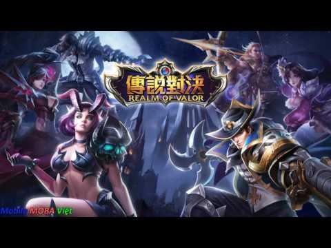 Hướng dẫn chi tiết tải và cài đặt chơi Liên quân mobile Đài Loan Realm of Valor