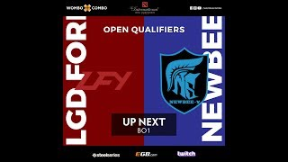 LFY vs Newbee.Young Game 1 (BO3) l The International 8 CN  open Qualifiers #2