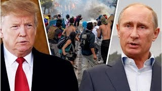 Venezuela crisis: Russia HITS OUT at US for 'VIOLATING INTERNATIONAL LAW' - tensions erupt