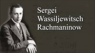 Sergei Rachmaninow - Waltz E flat major (Chopin)