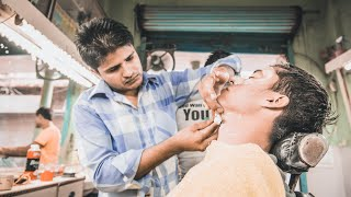 The Indian Barber Shave and Head Massage (Delhi, India)