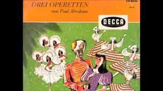 Drei Operetten von Paul Abraham (LP)