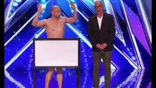 Vinny Grosso: The NAKED MAGICIAN Will Have You Laugh!! | America's Got Talent