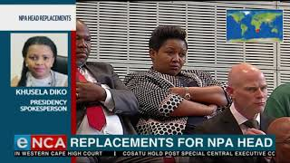 Presidency expected to announce acting NPA head today