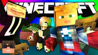 Minecraft Do Not Laugh | MAKE AN OLD LADY SWEAR?! (SkyDoesMinecraft Do Not Laugh Challenge)