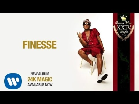 Bruno Mars Finesse Official Audio