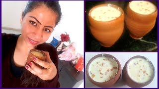 Almond Milk for Quick Weight Loss With Benefits | How to Make Badam Milk/Almond Milk Recipe at Home