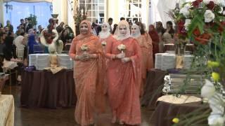 Groomsmen & Bridesmaid Processional - A Muslim Wedding Video GTA Best Videographer Photographer
