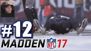 DOES THAT MEAN HE'S DEAD?! | Madden 17 | Career Mode #12