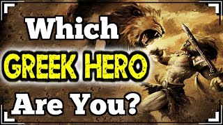 Which GREEK HERO Are You?