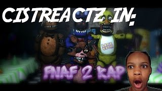 Five Nights At Freddy's 2 Rap Animated REACTION | NO PLACE TO HIDE