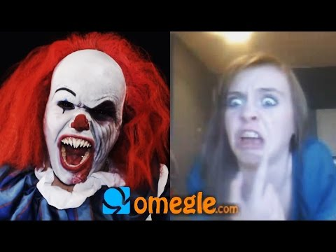 Pennywise goes on Omegle!