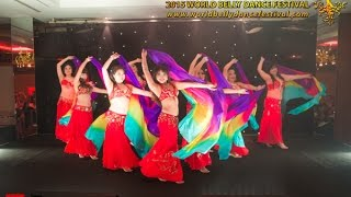 2015 World Belly Dance Festival - Opening Gala Performance by the Jewelz, 2014 WBDF Troupe Champions