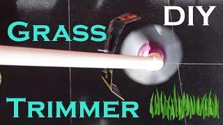 Make Garden Grass/Weed Trimming Machine At Home Easy Way DIY Cutter