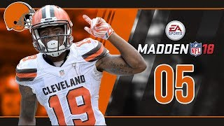 Madden NFL 18 Owner Mode (Cleveland Browns) #05 Week 4 vs. Bengals