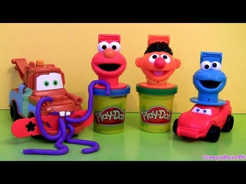 Cookie Monster Hand Puppets Play Doh How To Make