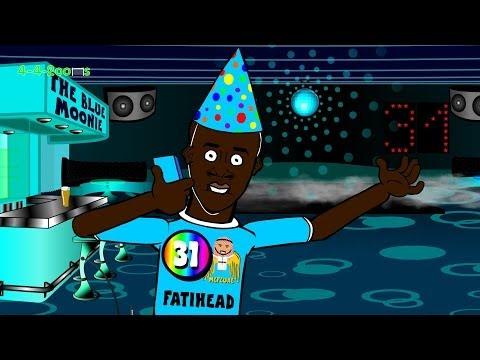 YAYA TOURE'S BIRTHDAY CAKE by 442oons (football cartoon song)