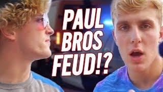 LOGAN PAUL VS. JAKE PAUL - THE FEUD CONTINUES