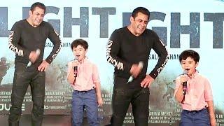 Salman's CUTE Tubelight Little Boy Matin Rey Tangu Speaking In Hindi