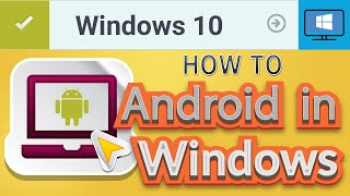 How to Install Android on Windows 10 PC [2016] - play Android games on PC or Laptop