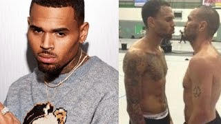 Chris Brown gets Banned from Gym after nearly coming to blows with management
