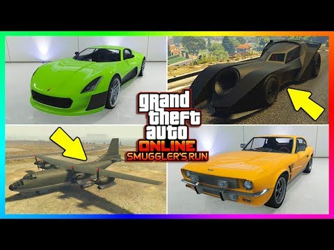 GTA ONLINE SMUGGLER'S RUN DLC ALL UNRELEASED VEHICLES - NEW SUPER CARS, PRICES, RELEASE & MORE!