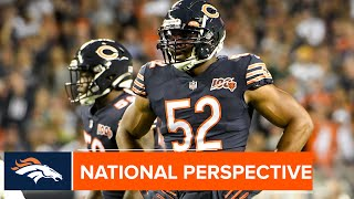 FOX Sports color analyst Mark Schlereth: Bears' defense presents biggest challenge of the season