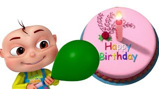 Zool Babies Celebrating Birthday (Single) | Learn Colors With Balloons | Videogyan 3d Rhymes