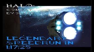 [WR] Halo: CE Legendary Speedrun in 1:17:25 (Deathless)