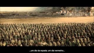 O Senhor dos Anéis - Batalha de Pelennor - Discurso de Théoden