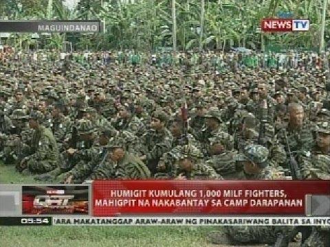 Xxx Mp4 Humigit Kumulang 1 000 MILF Fighters Mahigpit Na Nakabantay Sa Camp Darapanan 3gp Sex