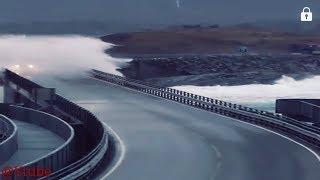 MOST DANGEROUS NORWAY'S ATLANTIC OCEAN ROAD 😯