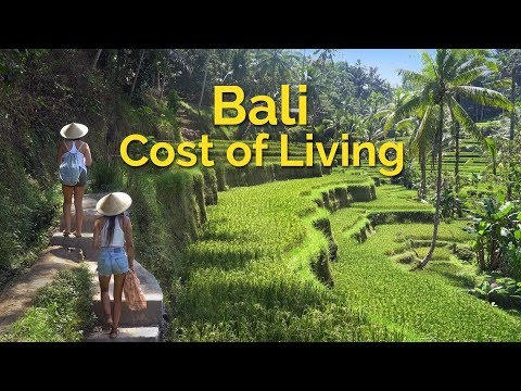 Bali Indonesia Cost of Living
