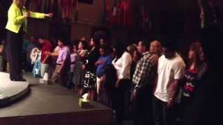 Easter 2014 - altar call (ministration)