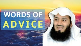 Words Of Advice | Mufti Menk | Perth 2018