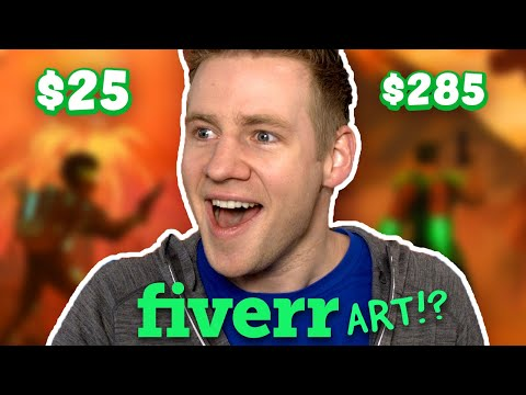 I Paid Artists on FIVERR To Finish My Drawing