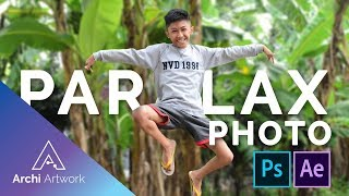 EDIT PHOTO PARALAX ANIMATION OR 2.5D EFFECT