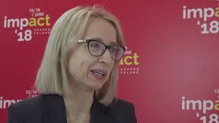 Interview with Teresa Czerwińska from Ministry of Finance at Impact
