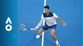 Novak Djokovic and Hyeon Chung's 35 shot rally | Australian Open 2018