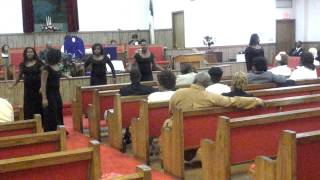 East hill praise dancers (Isaac Carree Right now)
