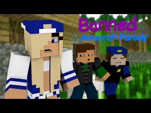 ♫ Banned ♫ Minecraft Animated Music Parody of Miley Cyrus s Wrecking Ball